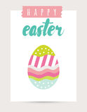 Vector Easter card festive background element illustration for print Stock Photo
