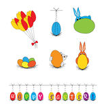 Vector - Easter clip art, illustrations Stock Photo