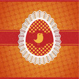 Vector Easter egg Royalty Free Stock Photos
