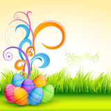 Vector easter floral Royalty Free Stock Photo
