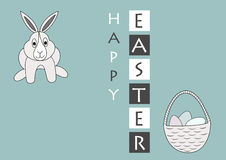 Vector easter greeting card Royalty Free Stock Photos