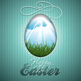 Vector Easter illustration Royalty Free Stock Photos