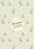 Easter Illustration | Pattern Royalty Free Stock Photography