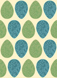 Vector Easter pattern. Eggs ornament. Repeated background for website, wallpaper, textile printing, texture. Royalty Free Stock Image
