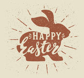 Vector easter poster Royalty Free Stock Photo