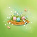Vector Easter Poster stock illustration