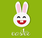 Vector easter rabbit Royalty Free Stock Image