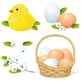 Vector easter and spring element Stock Photo