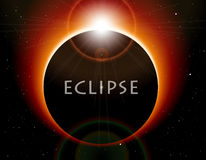 Vector Eclipse Royalty Free Stock Photo