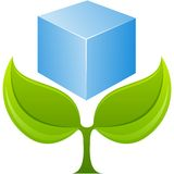 Vector eco element Royalty Free Stock Photo