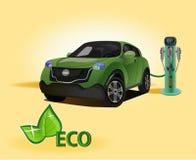 Vector eco environmental technology prolong the life of your descendants Royalty Free Stock Photo