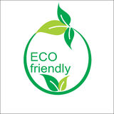 Vector eco friendly logo and symbol. Vector eco friendly logo and symbol Royalty Free Stock Image