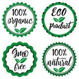 Vector eco badges or logo stock illustration