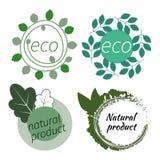 Vector eco organic Royalty Free Stock Image