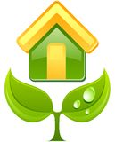 Vector eco sign. Stock Image