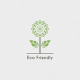 Vector Ecological Logo Stock Photography