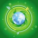 Vector ecology concept Stock Photo