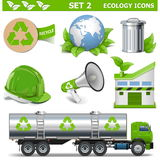 Vector Ecology Icons Set 2 Stock Image