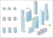 Vector edifícios ilustração do vetor