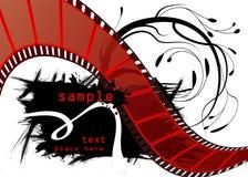 Vector Editable de la película Foto de archivo