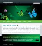Vector editable websitemalplaatje