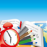 Vector. Education background. Stock Image