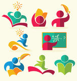 Vector education collection Stock Image