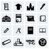 Vector Education icon set Stock Image
