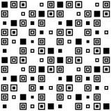 Vector eenvoudig geometrisch naadloos patroon Stock Foto's