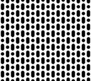 Vector eenvoudig geometrisch naadloos patroon Royalty-vrije Stock Fotografie