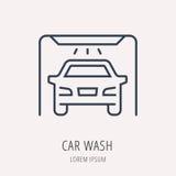 Vector Eenvoudig Logo Template Car Elements vector illustratie