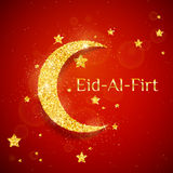 Vector Eid Al Firt background Stock Images