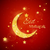 Vector Eid Al Firt background Royalty Free Stock Images