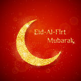 Vector Eid Al Firt background Royalty Free Stock Image
