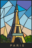 Vector Eiffel tower Royalty Free Stock Photography
