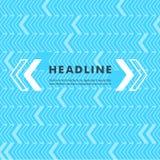 Vector einfachen Pfeilzeiger auf einem farbigen Hintergrund Stockfotografie