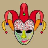 Vector - ejemplo del vector de la máscara del carnaval Fotos de archivo libres de regalías