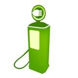Vector eléctrico del surtidor de gasolina limpia Fotos de archivo
