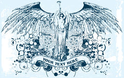 Vector el ángel libre illustration