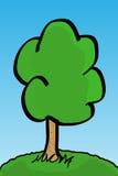 Vector el árbol Foto de archivo libre de regalías