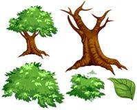 Vector el árbol fotografía de archivo