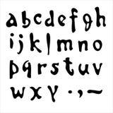 Vector el alfabeto. Foto de archivo libre de regalías