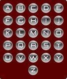 Vector el alfabeto. Fotos de archivo libres de regalías