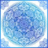 Vector el arte étnico inspirado mandala ornamental, indio modelado ilustración del vector