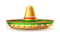 Vector el cinco de Mayo del sombrero mexicano del sombrero 3d libre illustration