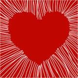 Vector el corazón Stock de ilustración