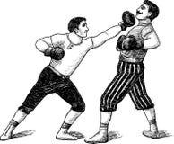 Boxeadores del vintage Foto de archivo libre de regalías