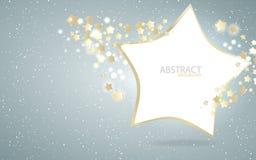 Vector el diseño del fondo de la estrella Fotos de archivo libres de regalías