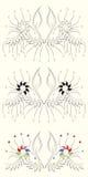 Vector el diseño floral stock de ilustración