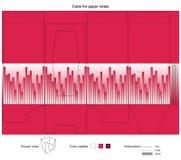 Vector el diseño para el cubo accesible fácil para las notas Fotos de archivo